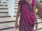 My hot Indian wife in saree and gets undressed for you