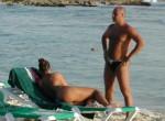 Bikini Girls on Dominican Beach (Voyeur pics)