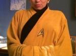 Sexy Girlfriend Poses In Star Trek Robe