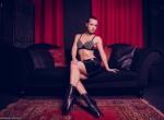 Melisa Mendini - Black Room Couch