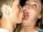 kissing cute lesbians or straight bbw