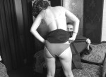Black and White - Misc - undress spank and grope