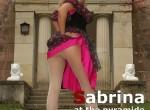 Sabrina - German blond in white wolford fatal pantyhose