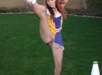 cute little cheerleader