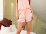 Suzie Carina-Pink shorty high heels