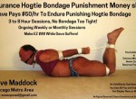 Endurance Hogtie Bondage Punishment Money slave