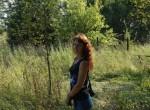 In Evening field