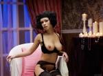 MA - Pammie Lee posing in Stockings