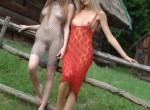 MA - Irishka and Nora outdoors posing