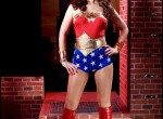 Carla Brown as Wonder Woman