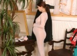 Pregnant Martina