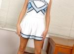 Blonde cheerleader very hot