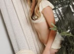 Lexi Belle strips off her lacy lingerie