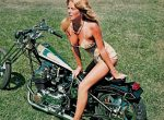 Vintage Motorcycles & Biker Chicks