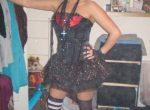 British Chav Teen Goddess Slags in Long Socks for Comment