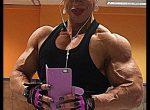 Virginia Sanchez Macias! Ripped Latina Muscle Monster!