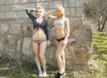 Rebecca and Violet - honey dynamite