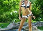Dream Kelly Outdoor Black and White Polka Dot Bikini