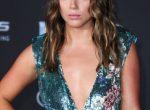 Chloe Bennet - Shimmery Green Dress