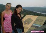 Melissa Doll and Kelly Summer sluts outside