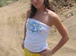 Melissa Doll naked at the beach